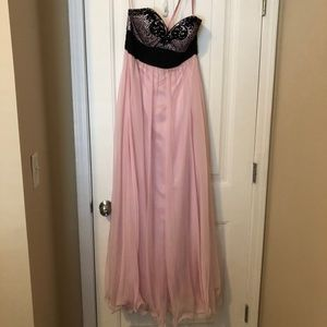 Light Pink gown